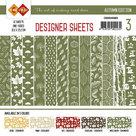 CDDSMG03 Card Deco - Designer Sheets - Autumn Colors-Mosgroen