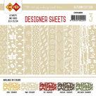 CDDSLB03 Card Deco - Designer Sheets - Autumn Colors-lichtbruin