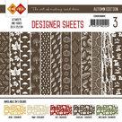 CDDSCB03 Card Deco - Designer Sheets - Autumn Colors-Chocoladebruin