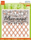 Design folder de luxe Anja's flower border