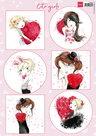 VK9564 knipvel Cute girls Marianne Design