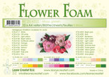 25.4322 Flower foam sheets a4 moss green