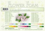 Flower foam sheets a4 White