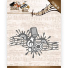 ADD10137 Snijmal Amy Design  Sounds of Music - Music Border