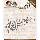 ADD10136 Snijmal Amy Design Sounds of Music - Music Swirl