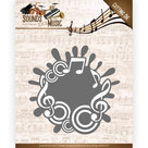 ADD10135 Snijmal Amy Design Sounds of Music - Music Label