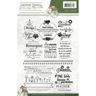 PMCS10019 Clearstamps Precious Marieke - Fantastic Flowers text