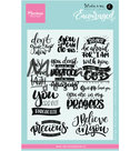 Clear stamps Karin Joan KJ1724 - Encouraged