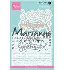 Clear stamps Karin Joan KJ1721 - Gefelicteerd