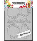 Dutch Doobadoo Greyboard 492.500.001 - Frames Round