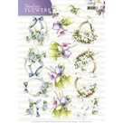 CD11081-HJ158013D Knipvel Precious Marieke Timeless Flowers - Bouquets