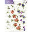 3D Knipvel  Precious Marieke  Timeless Flowers - Roses