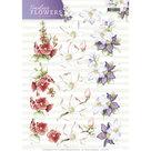 CD11084 3D Knipvel - Precious Marieke Timeless Flowers - Garden Flowers