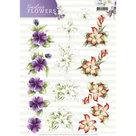 3D Knipvel Precious Marieke Timeless Flowers - Lillies