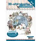 3DPO10004 3D uitdrukvellenboek Wintercollectie nr.4