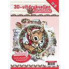 3DPO10003-NL 3D uitdrukvellenboek Kerstcollectie nr. 3
