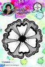 Studio Light Cling Stamp bloemen Art By Marlene nr.07 STAMPBM07 10x10cm