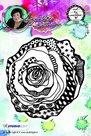 Studio Light Cling Stamp bloemen Art By Marlene nr.08 STAMPBM08