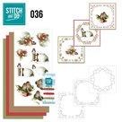 STDO036 Stitch and Do Borduurset 36 - Kerstversieringen