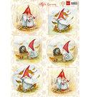HK1703 Knipvel Hettys gnomes