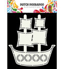 470.713.685 Dutch Doobadoo Card Pirate Ship