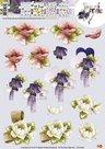 CD10335 3D Knipvel - Precious Marieke - Bloemen