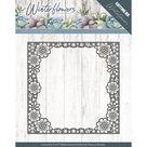 PM10139 Dies - Precious Marieke - Winter Flowers - Snowflake flower frame