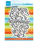 CR1452 Craftables snijmallen Classic Alphabet - upper case