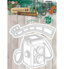 STENCILIN130 - Cutting and Embossing Die, Industrial 3.0, Nr.130