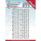 YCD10141 Snijmal Yvonne Creations  Christmas Dreams -  Borders