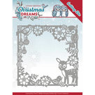 YCD10140 Snijmal Yvonne Creations Christmas Dreams - Animal Frame