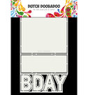 470.713.698  Card Art B-day Dutch Doobadoo