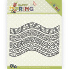 PM10146 Dies - Precious Marieke - Happy Spring - Borders