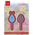 LR0590 Creatables snijmallen Easter pins