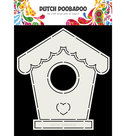 470.713.710 Dutch Doobadoo Card art Birdhouse