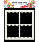 470.715.616 Dutch Doobadoo Mask Art Postal Stamps