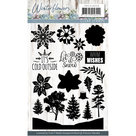 PMCS10039 Clearstamp - Precious Marieke - Winter Flowers