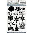PMCS10038 Clearstamp - Precious Marieke - Winter Flowers