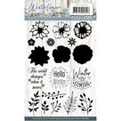 PMCS10037 Clearstamp - Precious Marieke - Winter Flowers