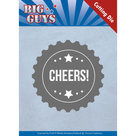 YCD10176 Dies - Yvonne Creations - Big Guys - Cheers
