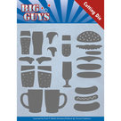YCD10172 Dies - Yvonne Creations - Big Guys - Fast food