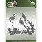 ADD10174 Snijmallen Amy Design Wild Animals 2 - Tropical Birds