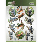 CD11300 3D Knipvel - Amy Design - Wild Animals - Bears