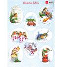 VK9578 Knipvel Christmas Robins