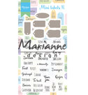 CS1028 Clear stamps and dies Mini labels NL