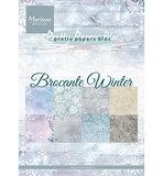 PK9165 Pretty Papers Bloc  Brocante Winter