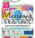 LR0626 Creatables snijmallen Congrats & Balloon