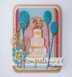 LR0626 Creatables snijmallen Congrats & Balloon vb