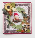 LR0624 Creatables snijmallen Tiny's Leaves Wreath vb