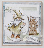 HT1647 Clearstamps Hetty's Gnomes autumn vb